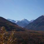Black Rapids Glacier, retreating